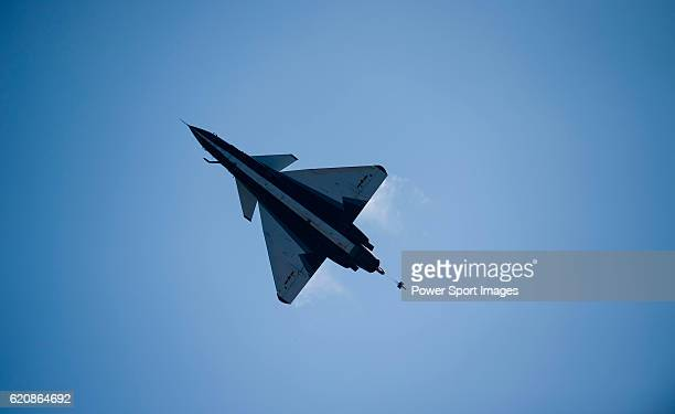 People's Liberation Army Air Force Chengdu J10 jet fighter manufactured by Chengdu Aerospace Corp a unit of Aviation Industry Corp of China flies for...