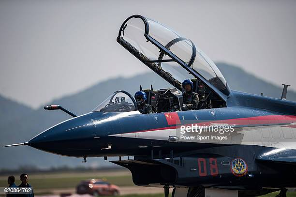 People's Liberation Army Air Force Chengdu J10 jet fighter manufactured by Chengdu Aerospace Corp a unit of Aviation Industry Corp of China gets...