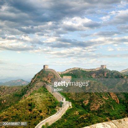 People,s Republic of China, Beijing, Great Wall, Jin Sha Ling section