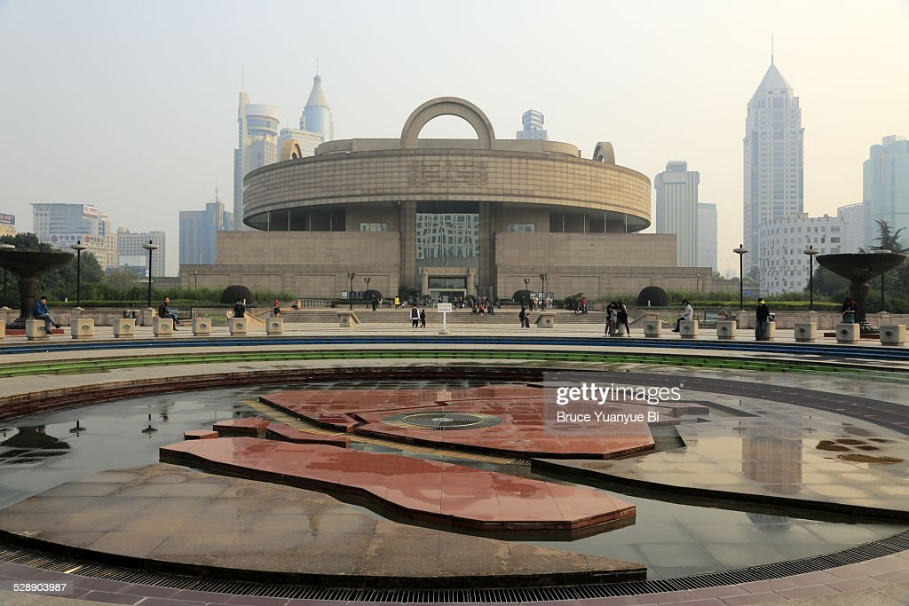 People's Square with Shanghai Museum