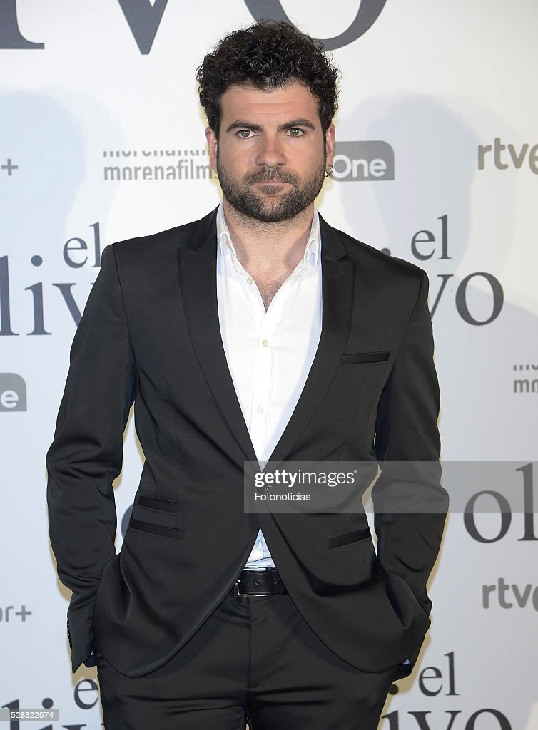 Pep Ambros attends the premiere of 'El Olivo' at the Capitol cinema on May 4, 2016 in Madrid, Spain.