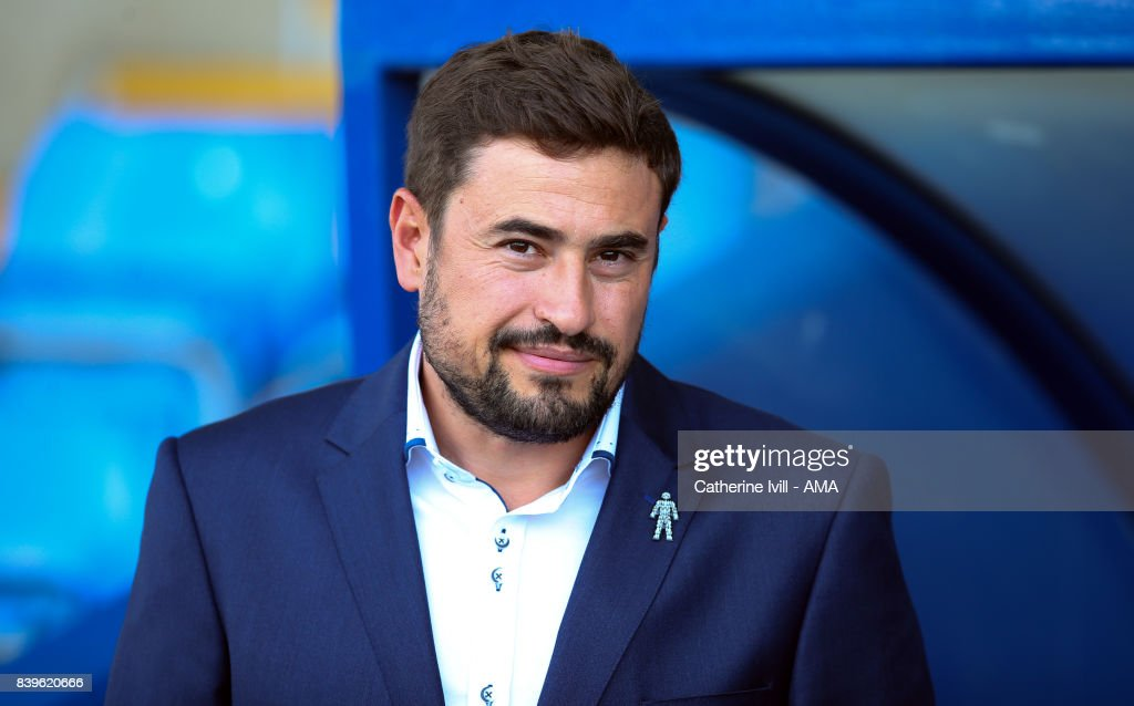 Pep Clotet manager of Oxford United during the Sky Bet League One match between Oxford United and Shrewsbury Town at Kassam Stadium on August 26, 2017 in Oxford, England.