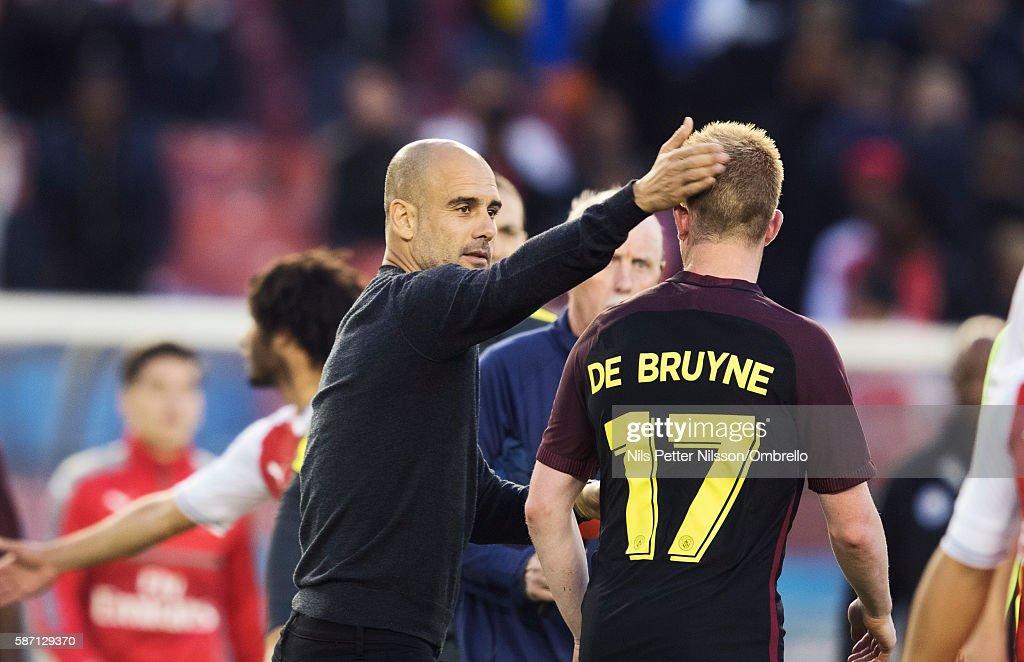 Arsenal v Manchester City: Pre-Season Friendly : News Photo