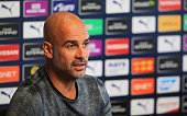 GBR: Manchester City Training and Press Conference