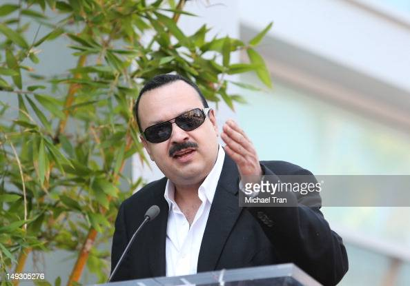 Pepe Aguilar attends the ceremony honoring him with a Star on The Hollywood Walk of Fame held on July 26 2012 in Los Angeles California