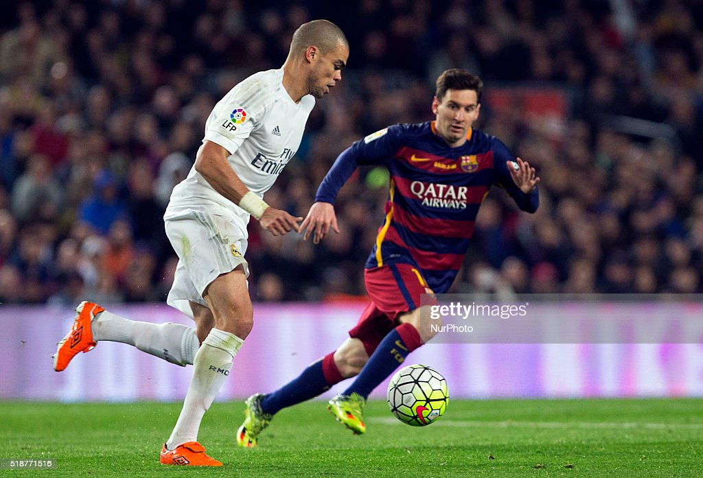 the match between barcelona and real madrid