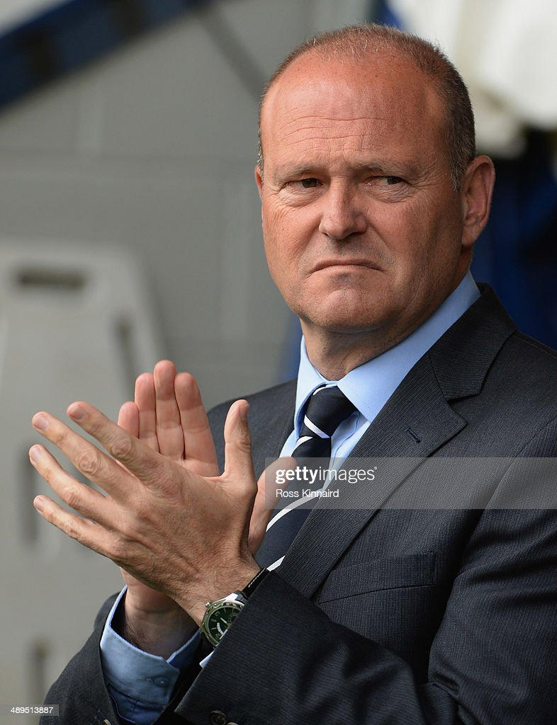 Pepe Mel manager of West Bromwich Albion looks on prior to the Barclays Premier League match between West Bromwich Albion and Stoke City at The Hawthorns on May 11, 2014 in West Bromwich, England.