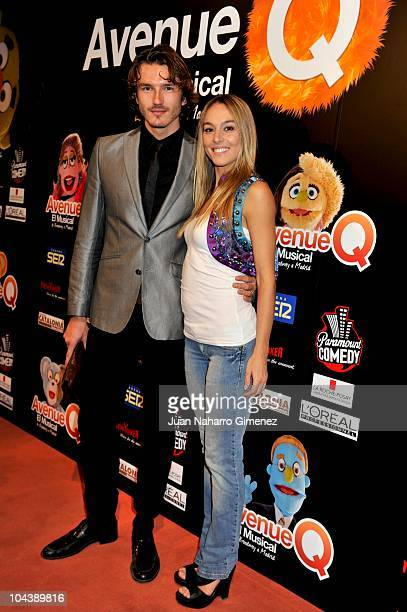 Pepe Munoz and Pau Vazquez attend 'Avenue Q El Musical' premiere at Nuevo Apolo theater on September 23 2010 in Madrid Spain