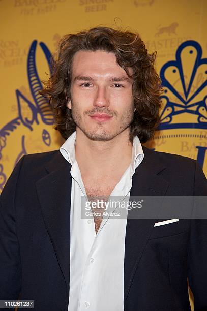 Pepe Munoz attends Diesel Island Embassy party at 'El Circulo de Bellas Artes' on March 16 2011 in Madrid Spain