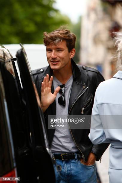 Pepe Munoz leaves the hotel Royal Monceau in Paris France on July 20 2017