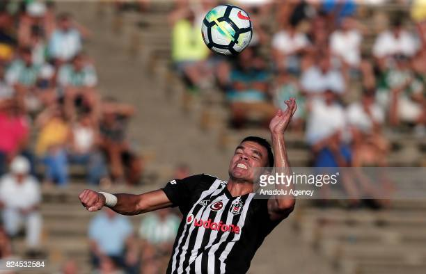 Pepe of Besiktas in action during a friendly match between Besiktas and Real Betis as part of the new season preparations in Cadiz Spain on July 30...