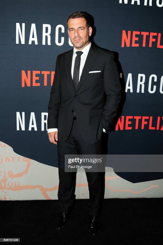 Pepe Rapazote attends 'Narcos' Season 3 New York Screening - Arrivals at AMC Lincoln Square 13 Theater on August 21, 2017 in New York City.