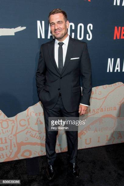 Pepe Rapazote attends 'Narcos' season 3 New York screening at AMC Loews Lincoln Square 13 theater on August 21 2017 in New York City
