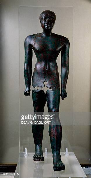 Pepi I Meryre copper statue from Saqqara Egyptian civilisation Old Kingdom Dynasty VI Cairo Egyptian Museum