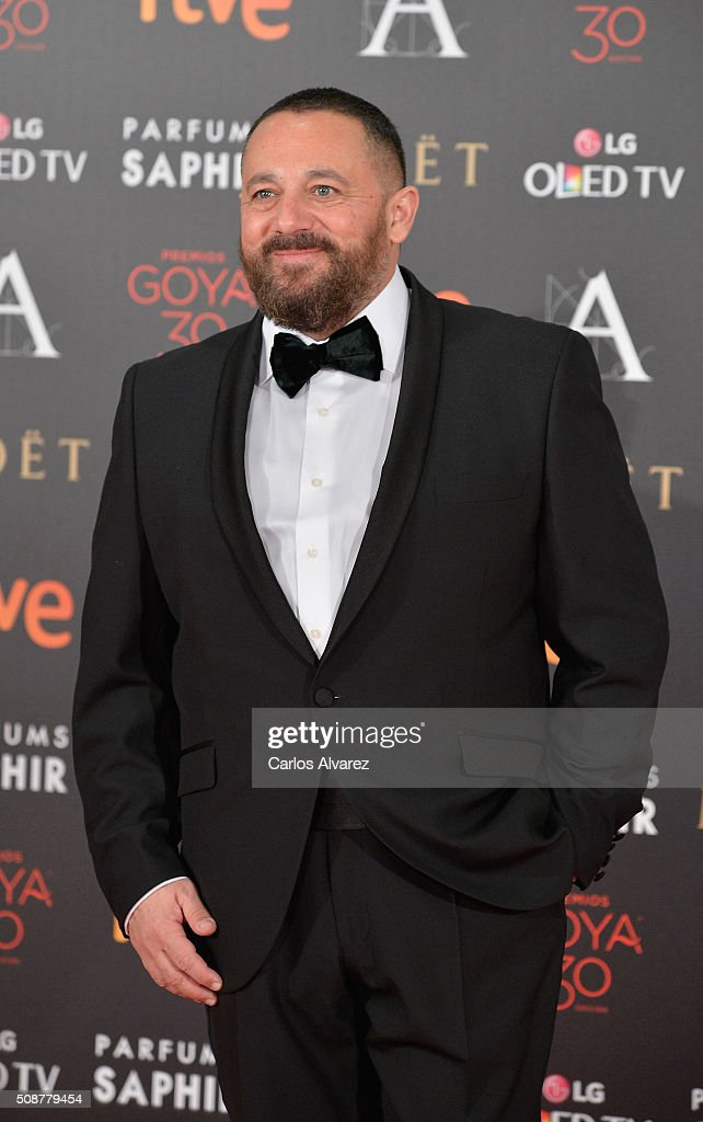Pepon Nieto attends Goya Cinema Awards 2016 at Madrid Marriott Auditorium on February 6, 2016 in Madrid, Spain.