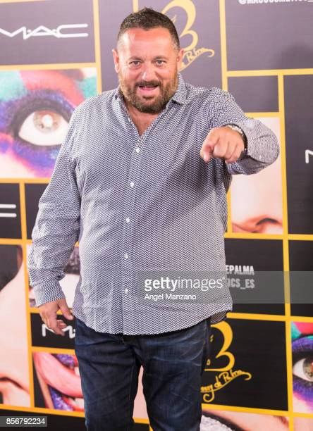 Pepon Nieto attends MAC collection photocall at El Principito theater on October 2 2017 in Madrid Spain