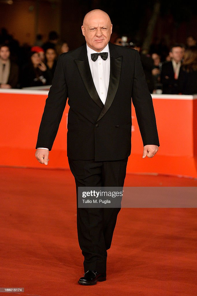 Peppe Lanzetta attends the 'Take Five' Premiere during The 8th Rome Film Festival at Auditorium Parco Della Musica on November 14, 2013 in Rome, Italy.
