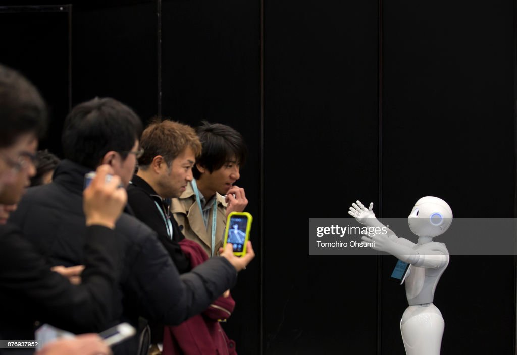 Latest Robots Are Displayed At SoftBank Robot World 2017