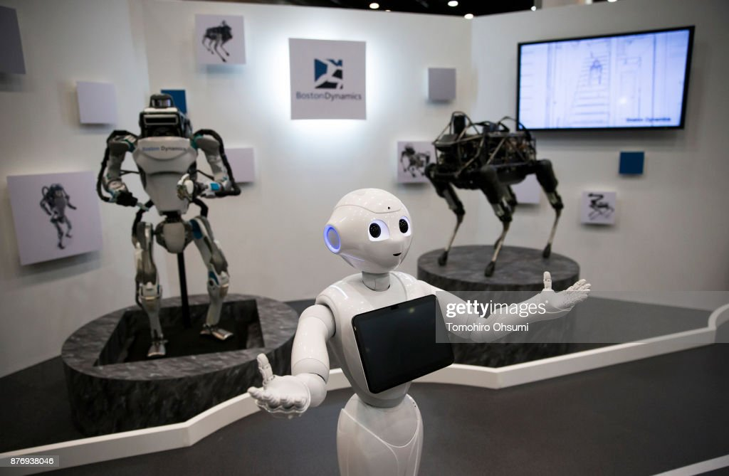 Latest Robot Technology Unveiled At SoftBank Robot World 2017