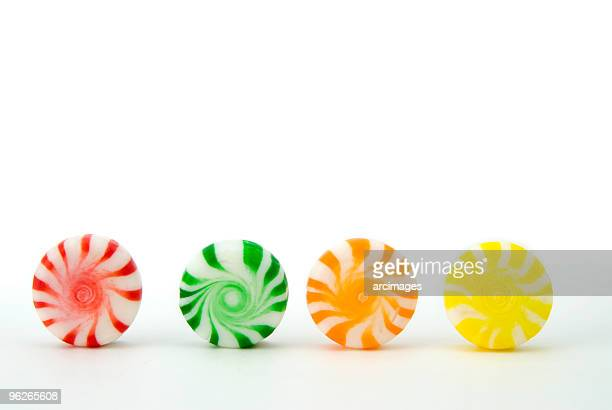 peppermint candy in a row