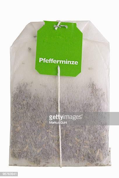 Peppermint teabag