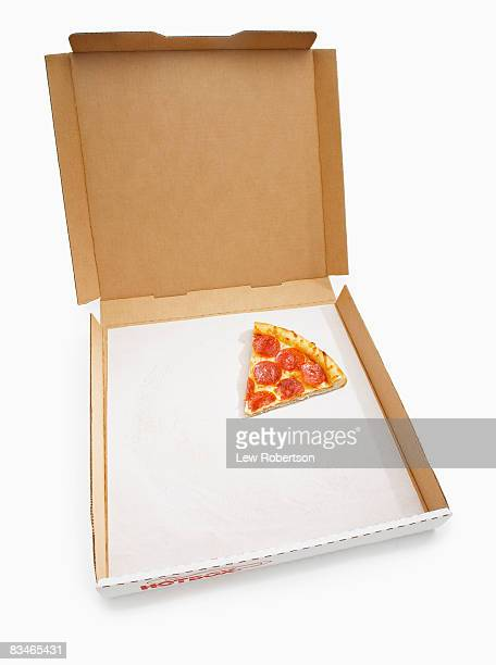 Pepperoni Pizza Slice in box