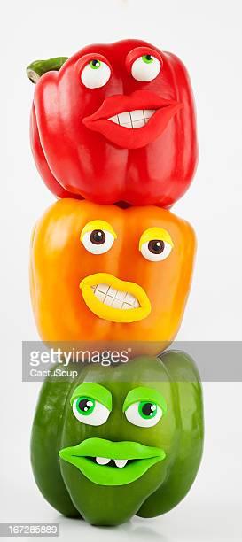 Peppers Porträt