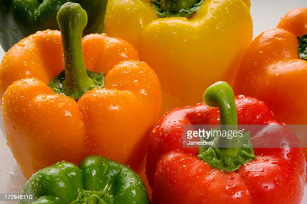 Peppers Up Close