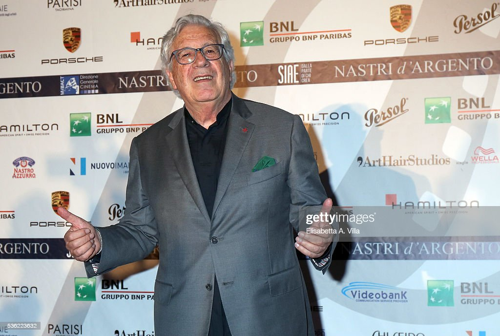 Peppino Di Capri attends Nastri D'Argento 2016 Award Nominations at Maxxi on May 31, 2016 in Rome, Italy.