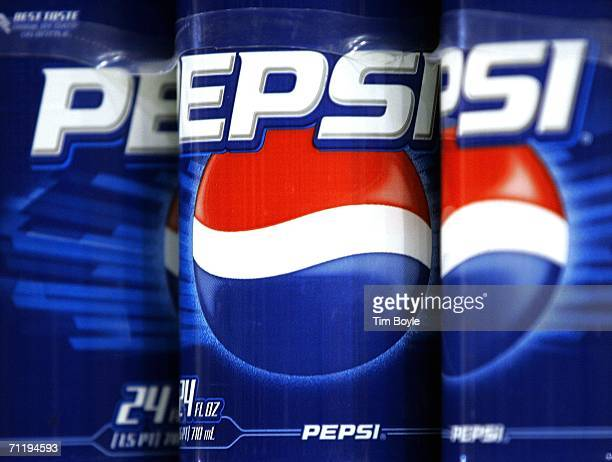 Pepsi labels are seen on plastic bottles of the soft drink displayed on a store shelf June 13 2006 in Des Plaines Illinois Doctors at the annual...