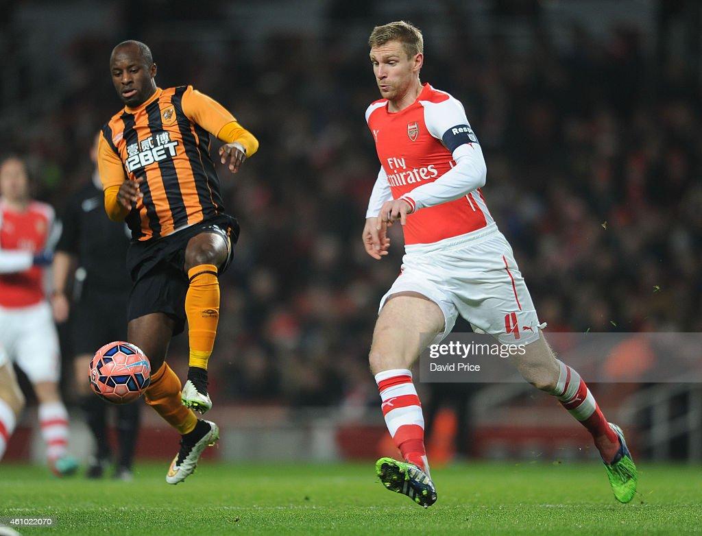 Arsenal v Hull City - FA Cup Third Round