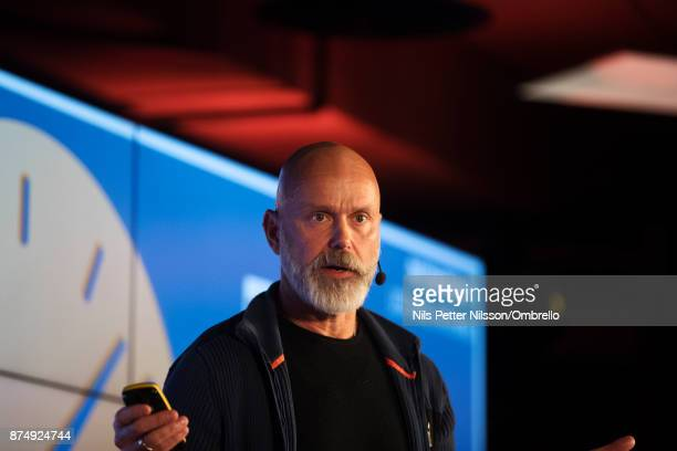 Per Sundin CEO Universal Music during the Sime Awards at Epicenter on November 16 2017 in Stockholm Sweden