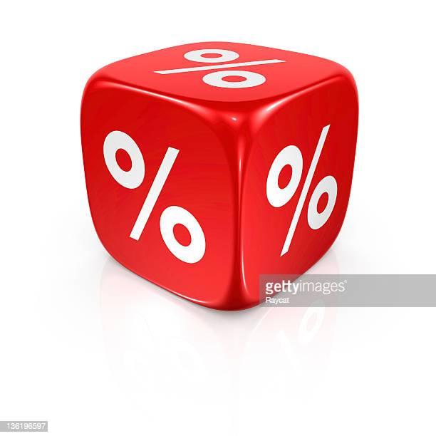 Prozentsatz Würfel