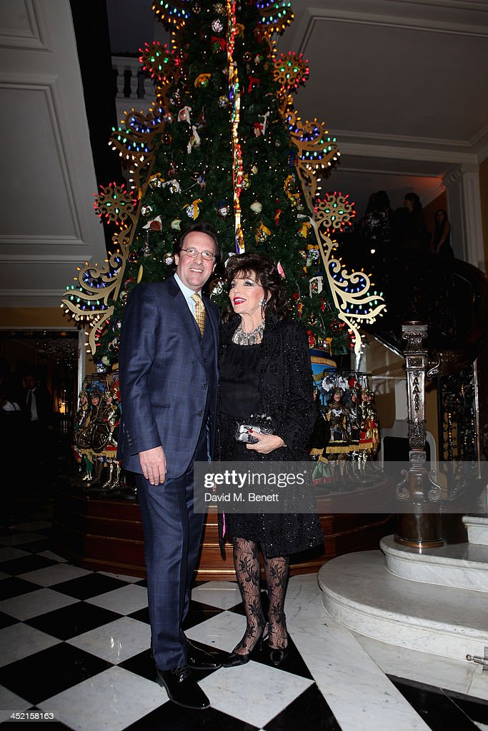 Claridge's Christmas Tree By Dolce & Gabbana Launch Party