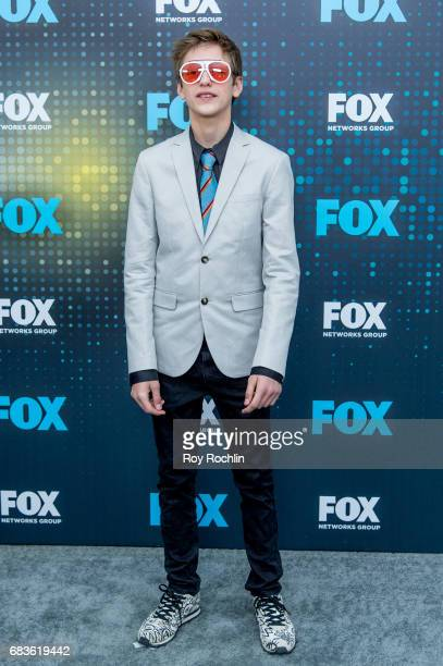 Percy Hynes White attends the 2017 FOX Upfront at Wollman Rink Central Park on May 15 2017 in New York City