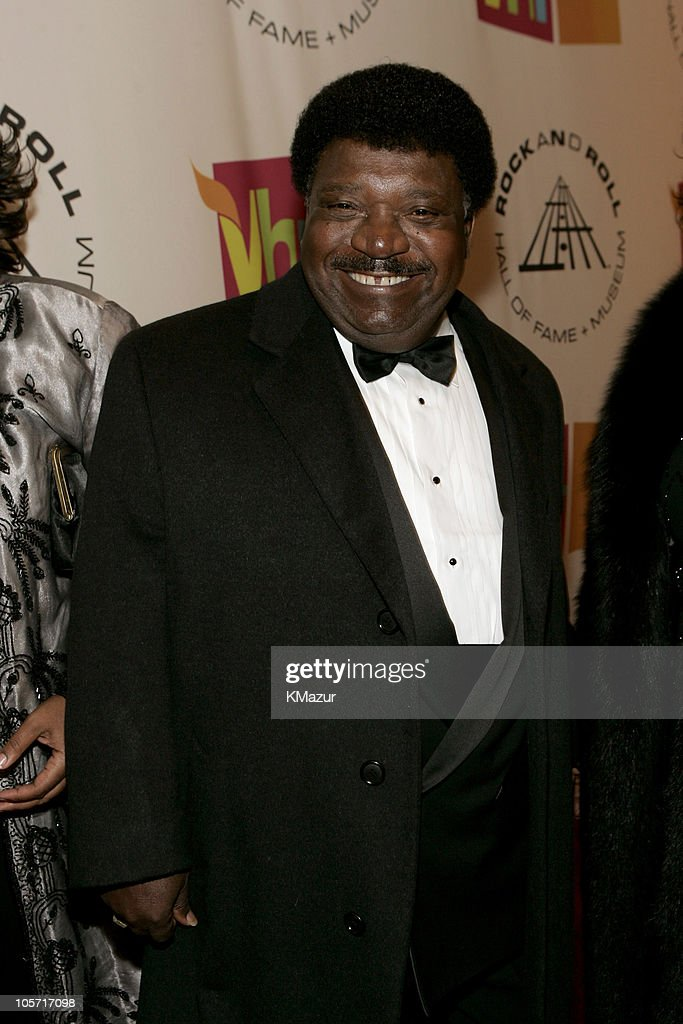 Percy Sledge, inductee during 20th Annual Rock and Roll Hall of Fame Induction Ceremony - Red Carpet at Waldorf Astoria in New York City, New York, United States.