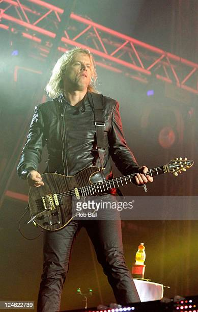 Peredur ap Gwynedd of Pendulum performs on day two of Bestival at Robin Hill Country Park on September 9 2011 in Newport Isle of Wight