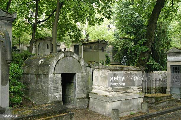PereLachaise Cemetery in Paris France
