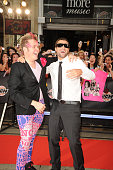 Perez Hilton and Brody Jenner arrive on the red carpet of the 20th Annual MuchMusic Video Awards at the MuchMusic HQ on June 21 2009 in Toronto Canada