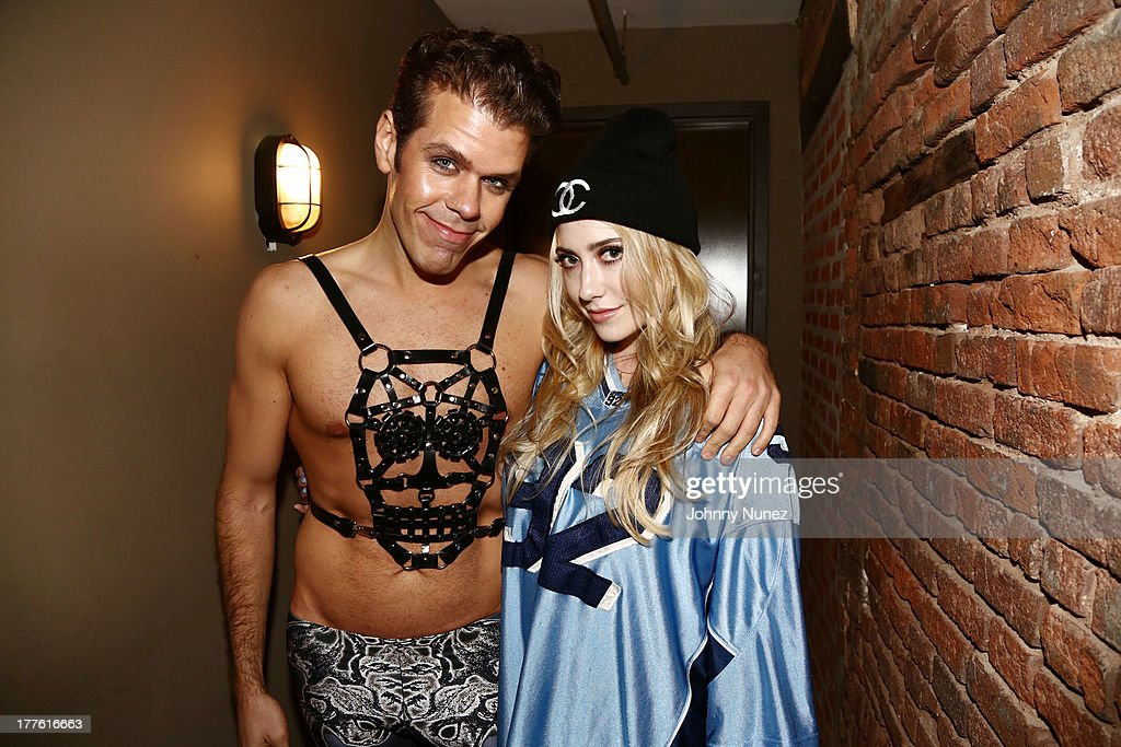 <a gi-track='captionPersonalityLinkClicked' href=/galleries/search?phrase=Perez+Hilton&family=editorial&specificpeople=598309 ng-click='$event.stopPropagation()'>Perez Hilton</a> and Liz attend <a gi-track='captionPersonalityLinkClicked' href=/galleries/search?phrase=Perez+Hilton&family=editorial&specificpeople=598309 ng-click='$event.stopPropagation()'>Perez Hilton</a>'s One Night In Brooklyn at Music Hall of Williamsburg on August 24, 2013 in New York City.