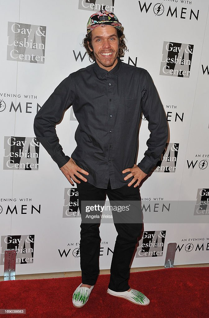 Perez Hilton arrives at the L.A. Gay & Lesbian Center's 2013 'An Evening With Women' Gala at The Beverly Hilton Hotel on May 18, 2013 in Beverly Hills, California.