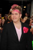 Perez Hilton arrives on the red carpet of the 20th Annual MuchMusic Video Awards at the MuchMusic HQ on June 21 2009 in Toronto Canada