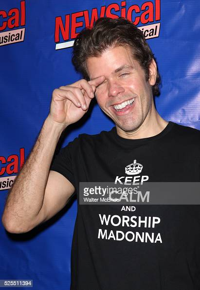 Perez Hilton attending the Opening Night Performance of Perez Hilton in 'NEWSical The Musical' at the Kirk Theatre in New York City on September 17...