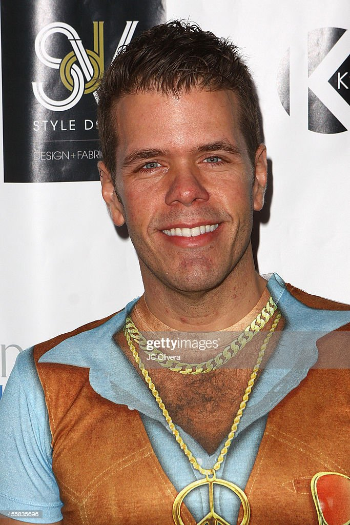 Perez Hilton attends Friend Movement's Stardust Soiree at Madame Tussauds on September 20 2014 in Hollywood California