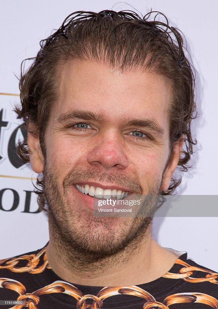 <a gi-track='captionPersonalityLinkClicked' href=/galleries/search?phrase=Perez+Hilton&family=editorial&specificpeople=598309 ng-click='$event.stopPropagation()'>Perez Hilton</a> attends GLAAD's annual food-themed fundraiser 'GLAAD Hancock Park' on July 20, 2013 in Los Angeles, California.