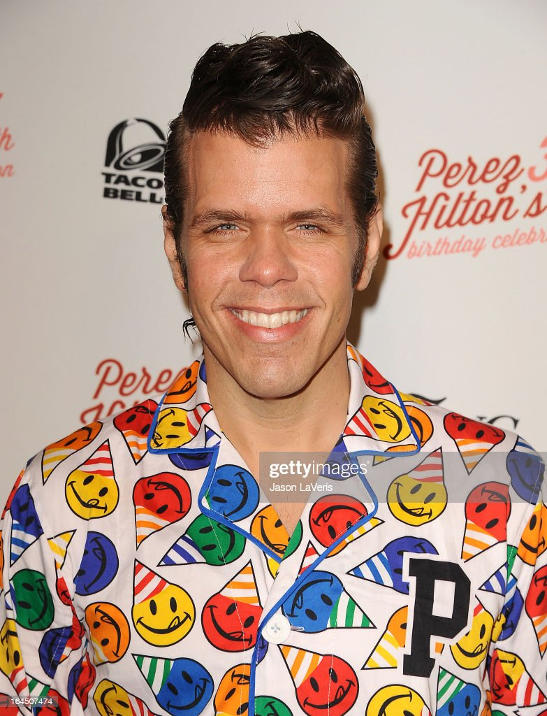 <a gi-track='captionPersonalityLinkClicked' href=/galleries/search?phrase=Perez+Hilton&family=editorial&specificpeople=598309 ng-click='$event.stopPropagation()'>Perez Hilton</a> attends his 35th birthday party at El Rey Theatre on March 23, 2013 in Los Angeles, California.