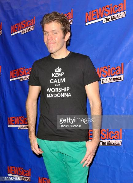 Perez Hilton attends 'NEWSical The Musical' Opening Night Reception at XL Nightclub on September 17 2012 in New York City