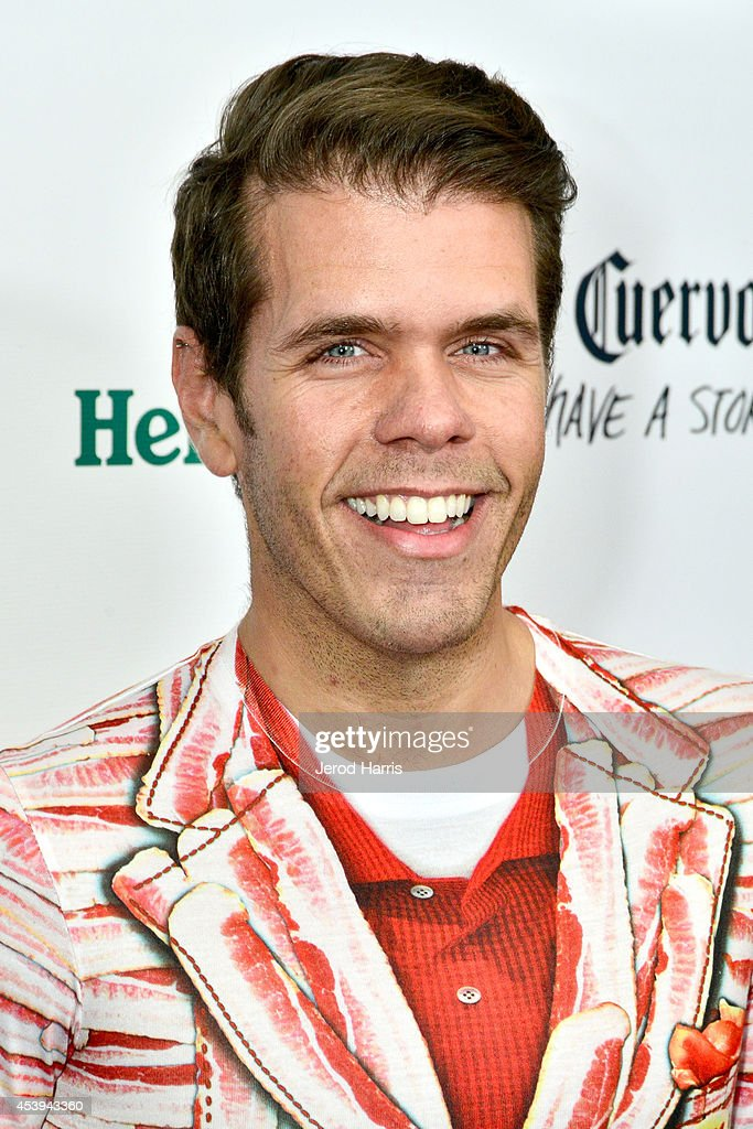 Perez Hilton attends OK TV Awards Party at Sofitel Hotel on August 21 2014 in Los Angeles California