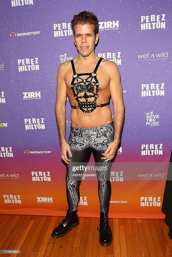 Perez Hilton attends Perez Hilton's One Night In Brooklyn at Music Hall of Williamsburg on August 24, 2013 in New York City.