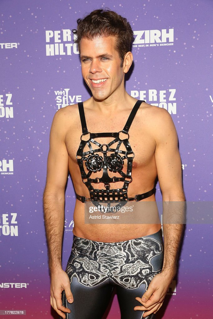 <a gi-track='captionPersonalityLinkClicked' href=/galleries/search?phrase=Perez+Hilton&family=editorial&specificpeople=598309 ng-click='$event.stopPropagation()'>Perez Hilton</a> attends <a gi-track='captionPersonalityLinkClicked' href=/galleries/search?phrase=Perez+Hilton&family=editorial&specificpeople=598309 ng-click='$event.stopPropagation()'>Perez Hilton</a>'s One Night In Brooklyn at Music Hall of Williamsburg on August 24, 2013 in New York City.
